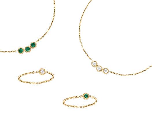 Delicadas y tiernas, así es la nueva joyería en miniatura de Dior