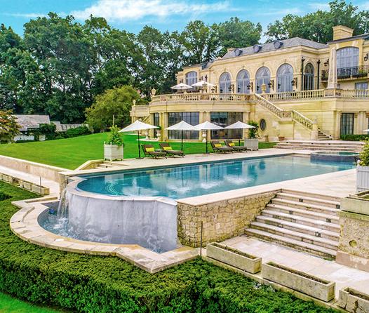 Esta lujosa propiedad está inspirada en el Palacio de Versalles