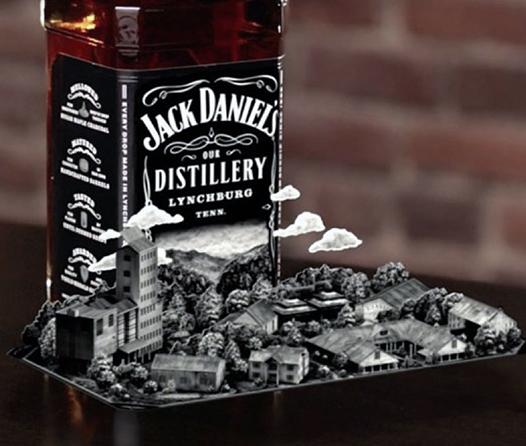 Disfruta de libros interactivos con esta app en tus botellas de Jack Daniel's
