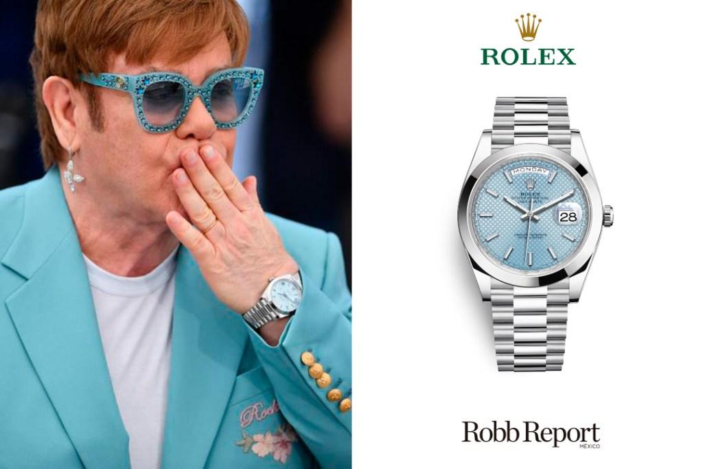 Elton John Rolex Day-Date 40