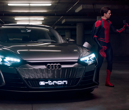Audi y Sony Pictures presentan contenido exclusivo previo a Spider-Man: Far From Home