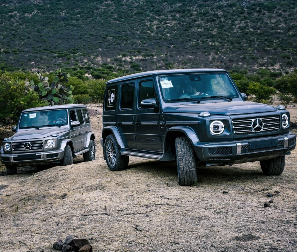 Mercedes-Benz conquistó los caminos de San Miguel de Allende con Clase G y GLE