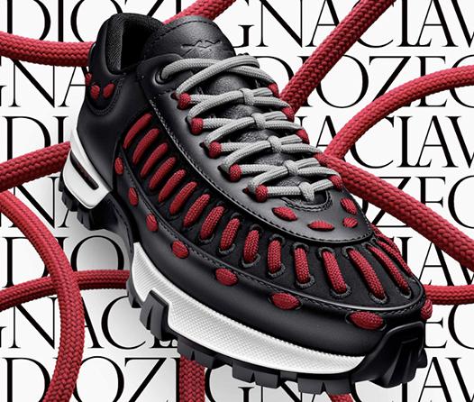 Así son los nuevos sneakers personalizables de Zegna