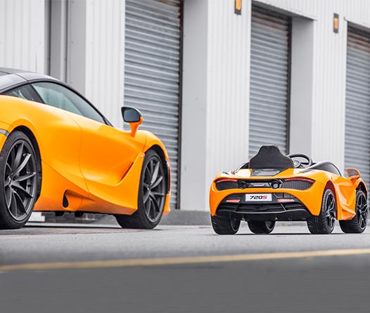 McLaren 720s, el auto ideal para que los niños aprendan a manejar
