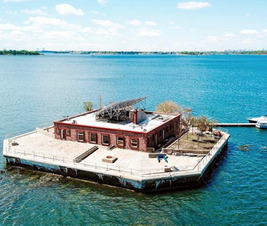 Ahora puedes tener una isla privada a 30 minutos de Manhattan