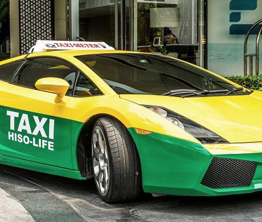 taxis más elegantes del mundo