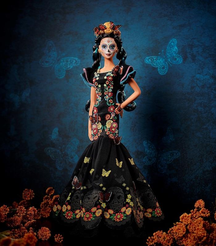 Mira-como-luce-la-nueva-Barbie-Catrina-inspirada-en-el-Día-de-Muertos