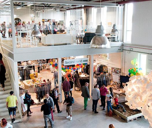 Así es el primer centro comercial con solo productos reciclados