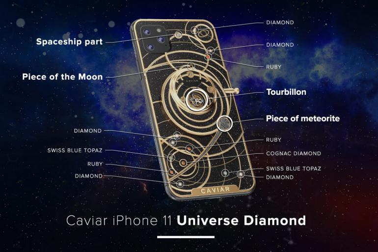 Caviar-diseña-el-iPhone-más-extravagante-con-fragmentos-de-roca-lunar