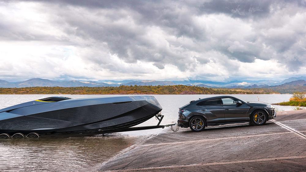 Cortesía de Officina Armare Design y Lamborghini
