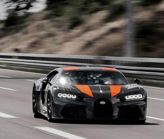 Este es el Bugatti Chiron que alcanzó los 500 km/h