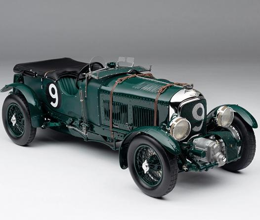 Bentley recreará 12 ejemplares de su auto de carreras más valioso