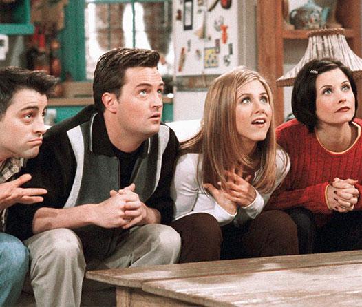 Celebra en grande los 25 años de Friends en Warner House