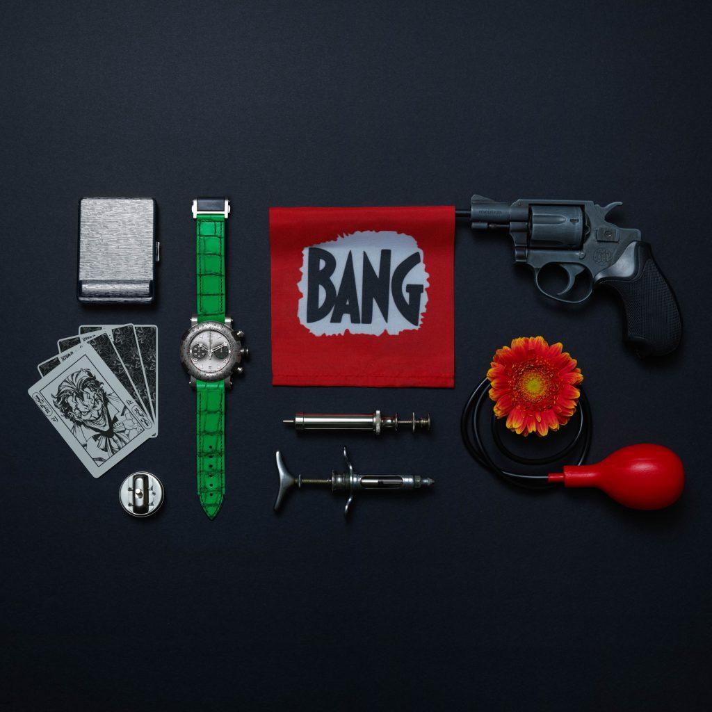 ¿Fan de Joker? Necesitas este reloj
