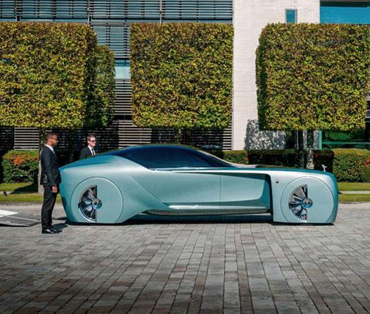 Rolls-Royce 103EX el auto del futuro, vuelve a casa