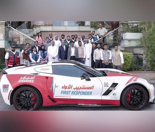 Dubái tiene un nuevo Corvette en su sistema de ambulancias