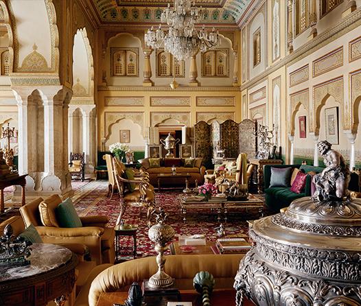 La familia real de Jaipur convierte su palacio en el Airbnb más lujoso del mundo
