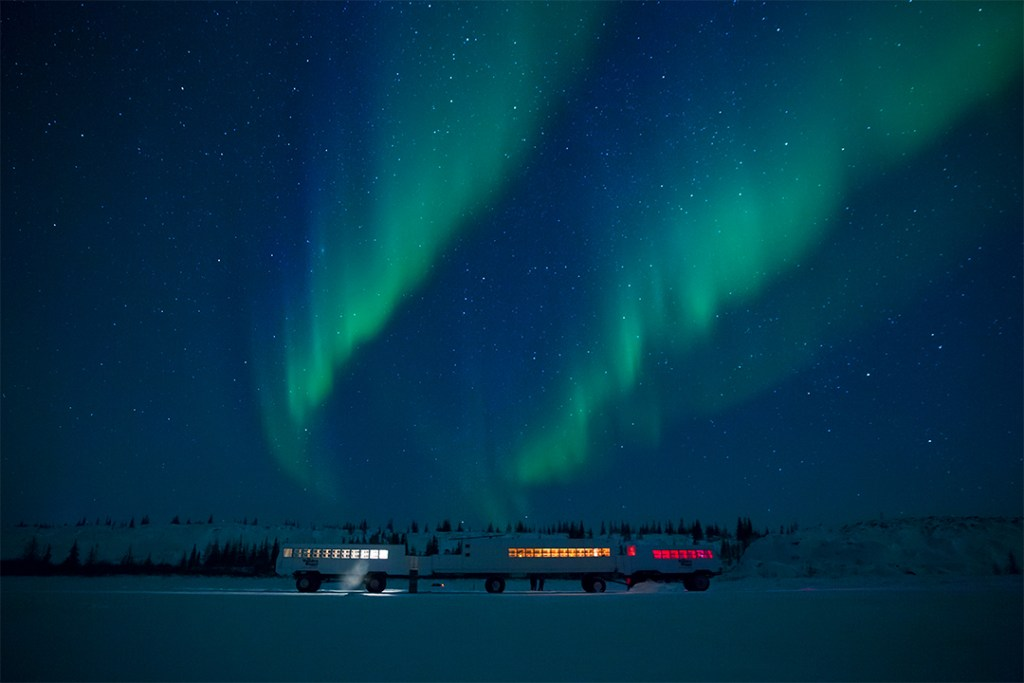 Dónde y cuándo ver auroras boreales en Canadá
