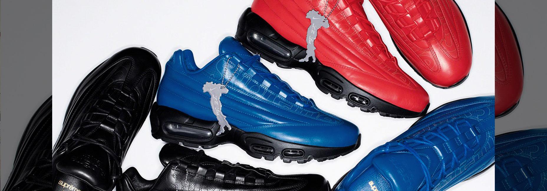 Supreme y Nike lanzan unos Air Max 95 de lujo