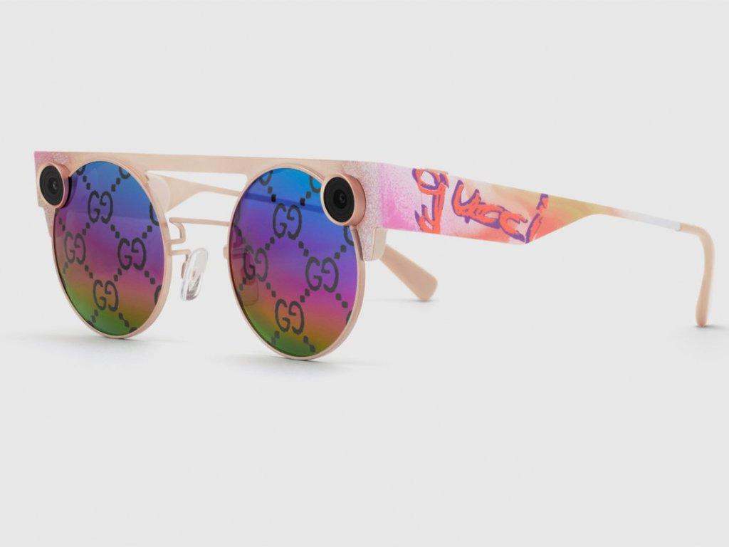 Gucci une fuerzas con Snapchat para crear unos nuevos lentes de edición especial