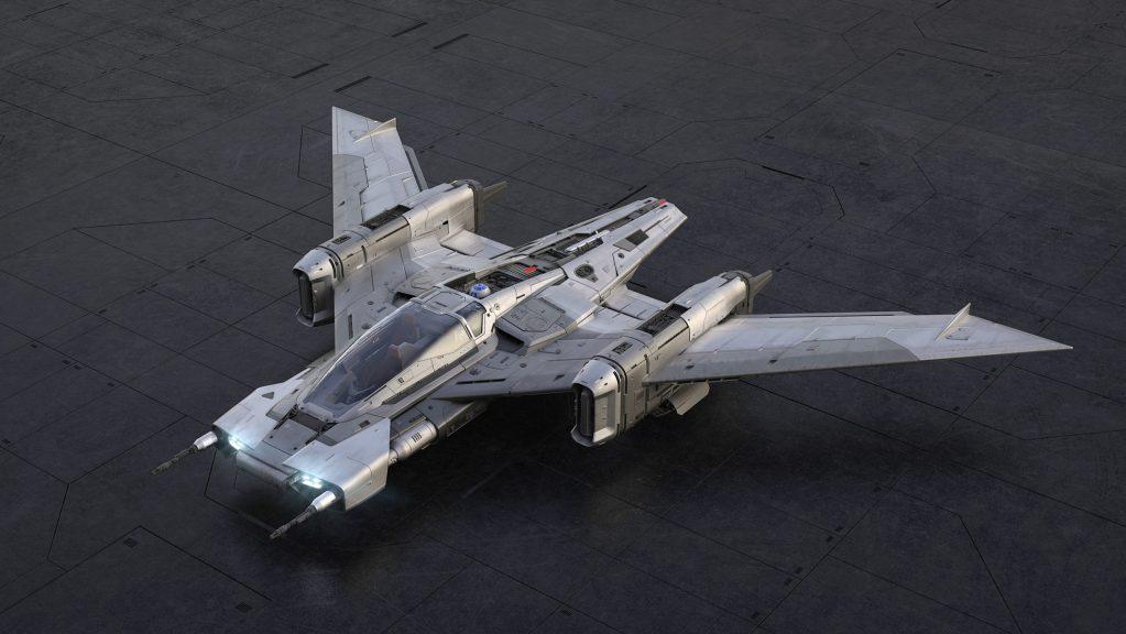 Así es la nueva nave espacial de 'Star Wars' inspirada en el 911 y Taycan de Porsche