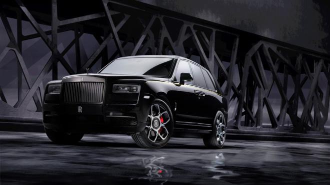 Rolls-Royce Cullinan ahora será el SUV más negro