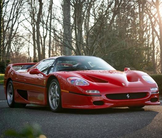 Sale a subasta el primer prototipo del legendario Ferrari F50