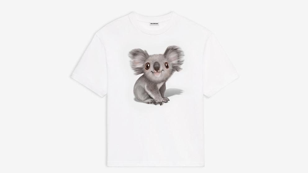 Balenciaga lanza sudaderas y camisetas para apoyar a  Australia