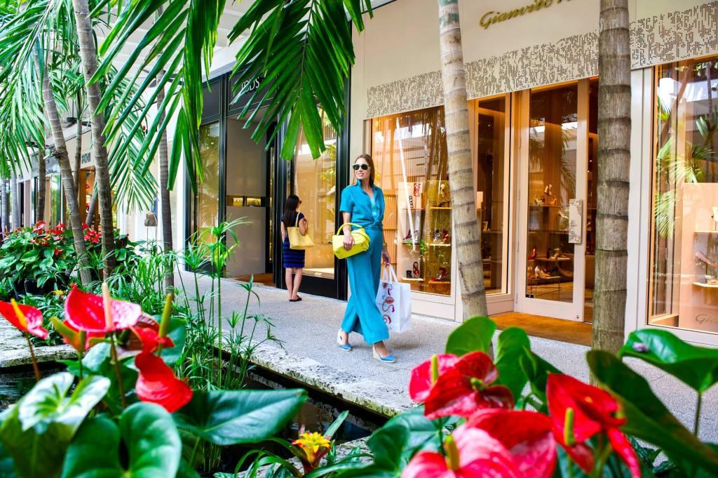 compras de lujo en Miami