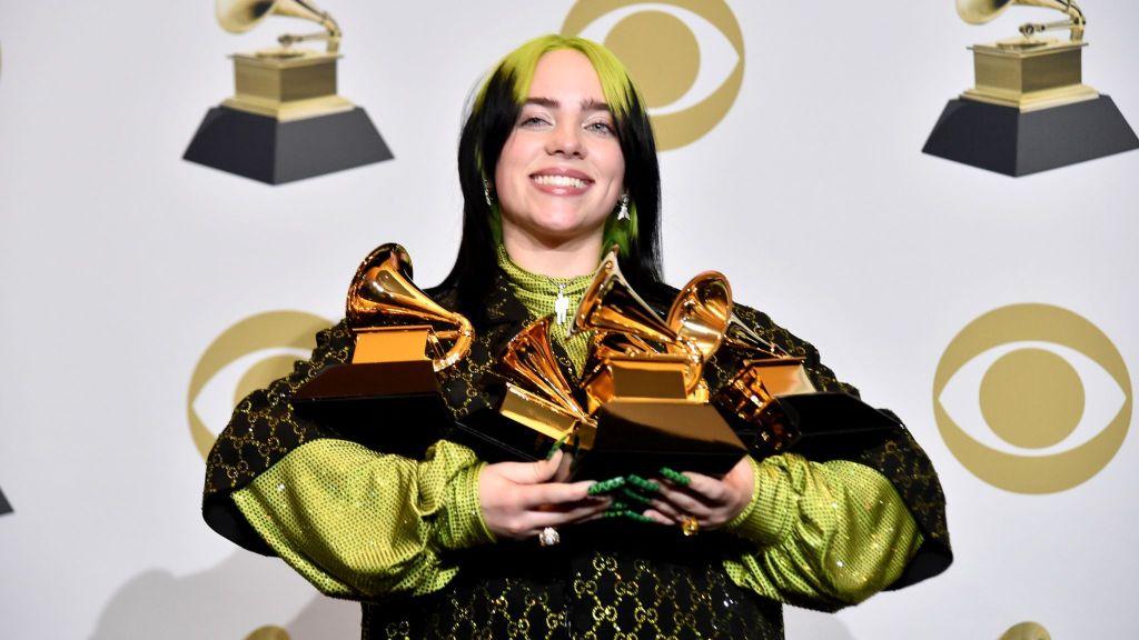 La moda de Billie Eilish, millonaria a los 18 y ganadora de los Grammys