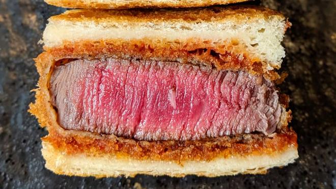 Este banquete all-Wagyu tiene uno de los sandwiches más caros