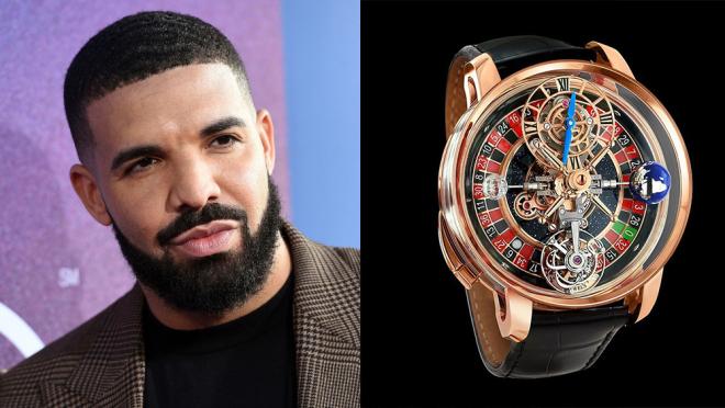 El Roulette Wheel Watch de 620 mil dólares de Drake