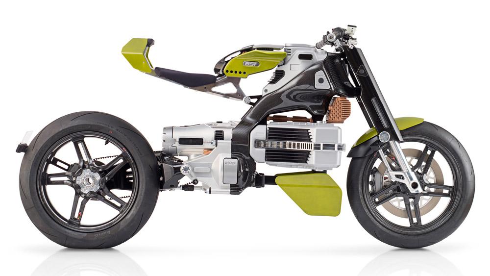 motocicleta eléctrica BST-HyperTEK.