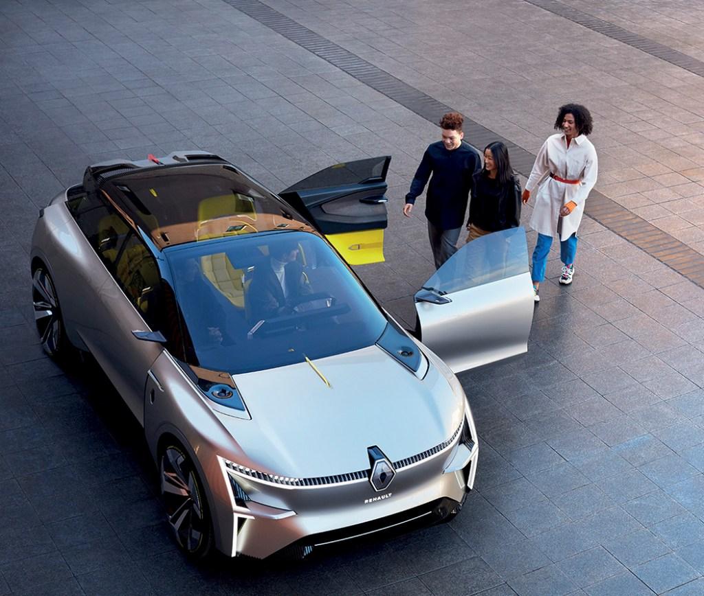 Hasta 700 kilómetros de autonomía, así es el nuevo concepto de Renault