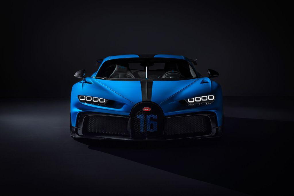 Bugatti Chiron Pur Sport,   más rápido que el Chiron