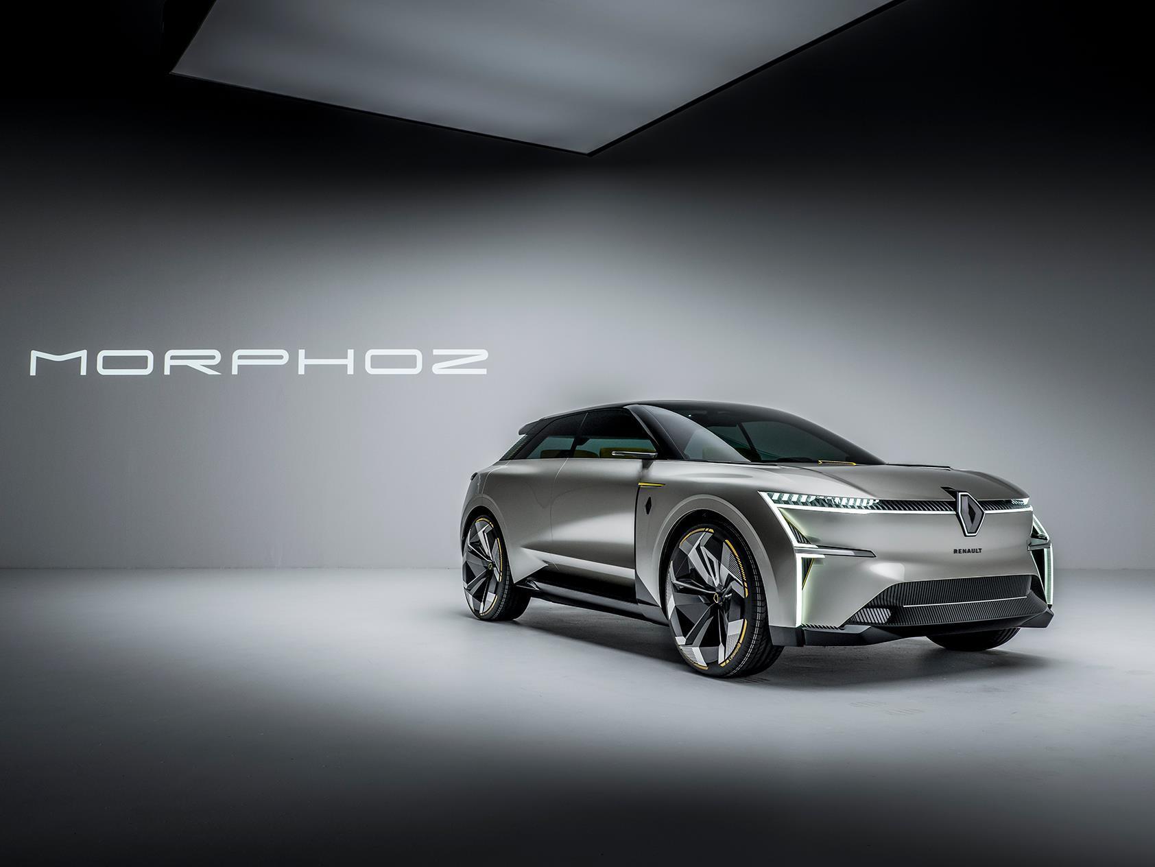 Renault Morphoz, el único capaz de cambiar de tamaño
