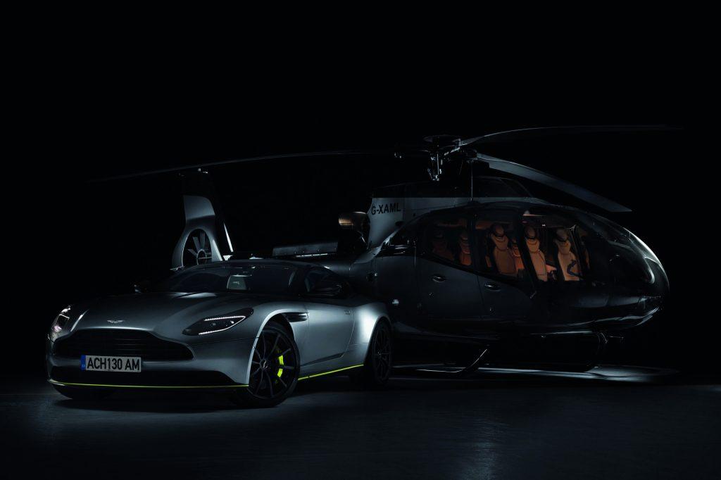 Del asfalto a las nubes: Aston Martin ha creado un helicóptero de lujo