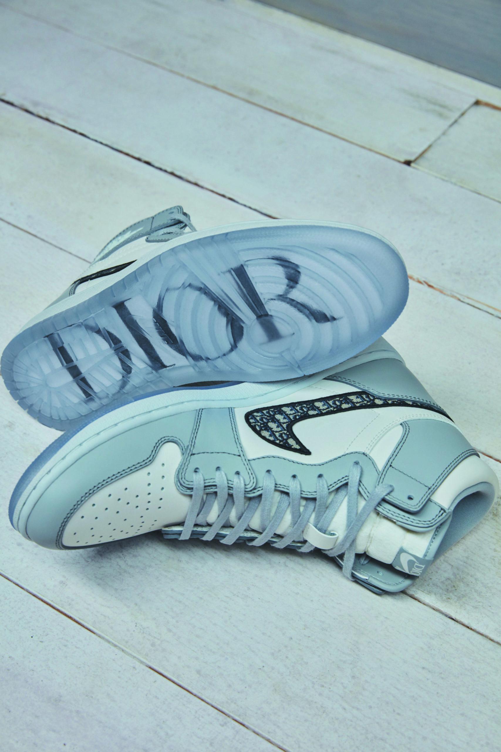 lana Independiente Nunca  La alianza entre la marca de Michael Jordan y Dior: Fashion can jump