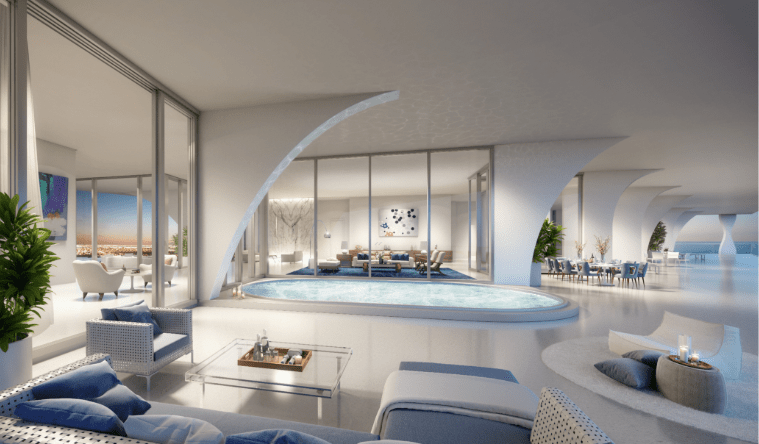Jade Signature Penthouse: el refugio ideal para gozar Miami