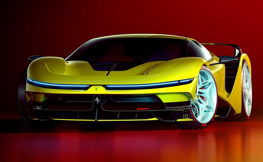 Ferrari F42 Concept, un modelo que revive digitalmente la leyenda del F40 en un diseño futurista