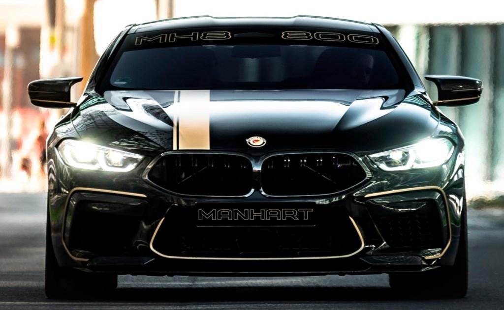 Elegantemente deportivo, esta edición de BMW M8 supera los 800 caballos de fuerza