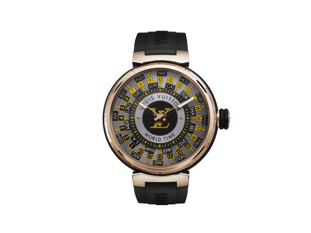 Los nuevos relojes de Louis Vuitton definen el ritmo del monograma