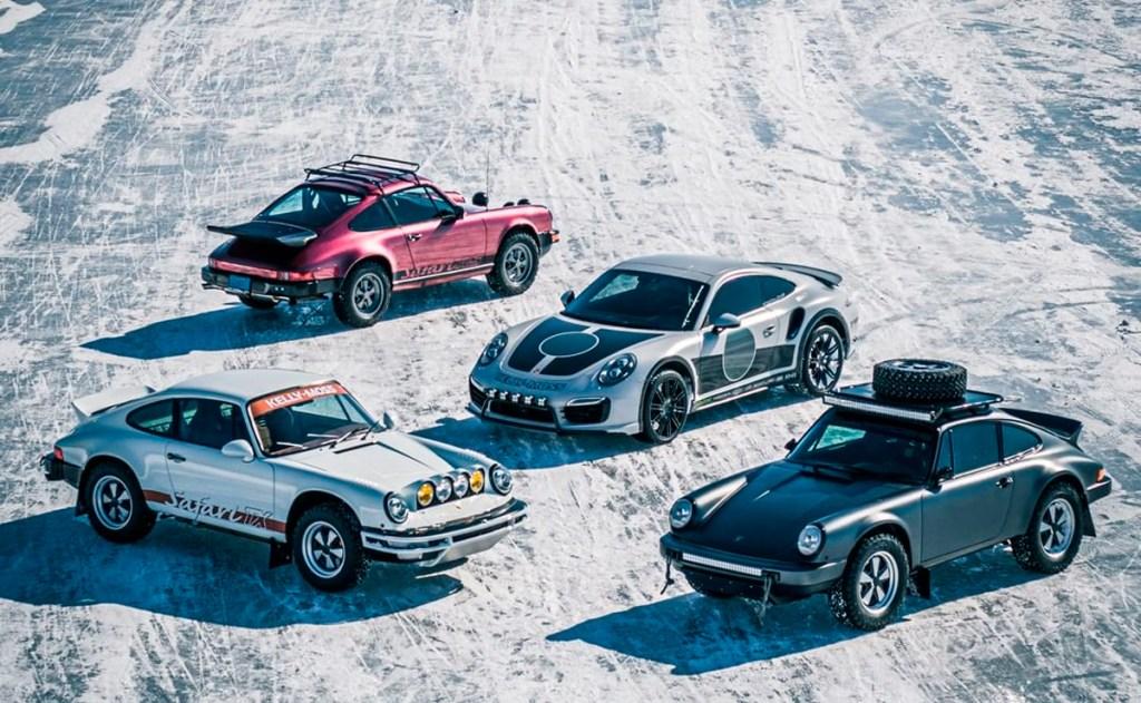 Porsche 911 Snow KTM