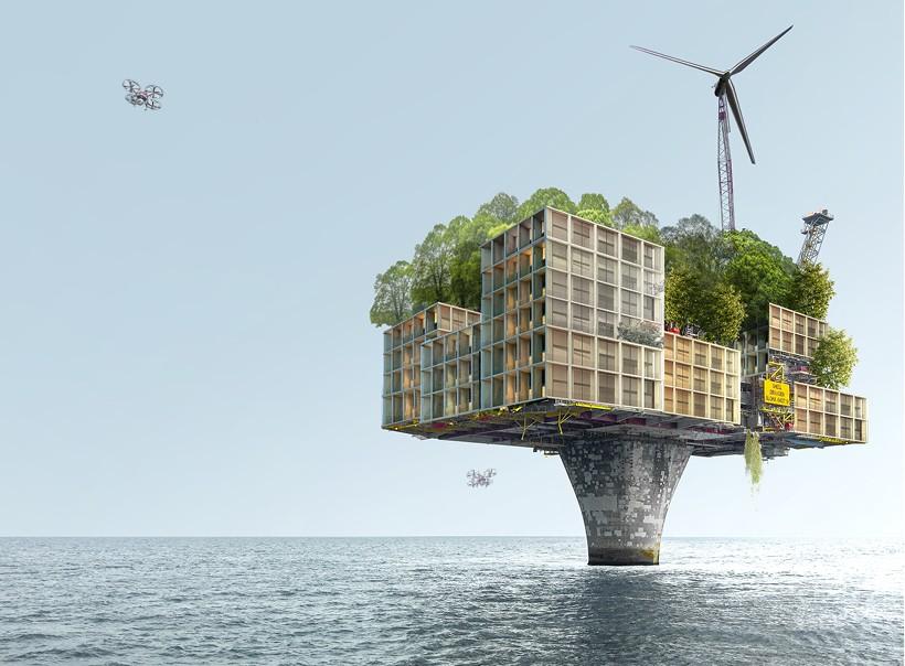 X-Lands: De plataformas petroleras a exuberantes residencias de lujo