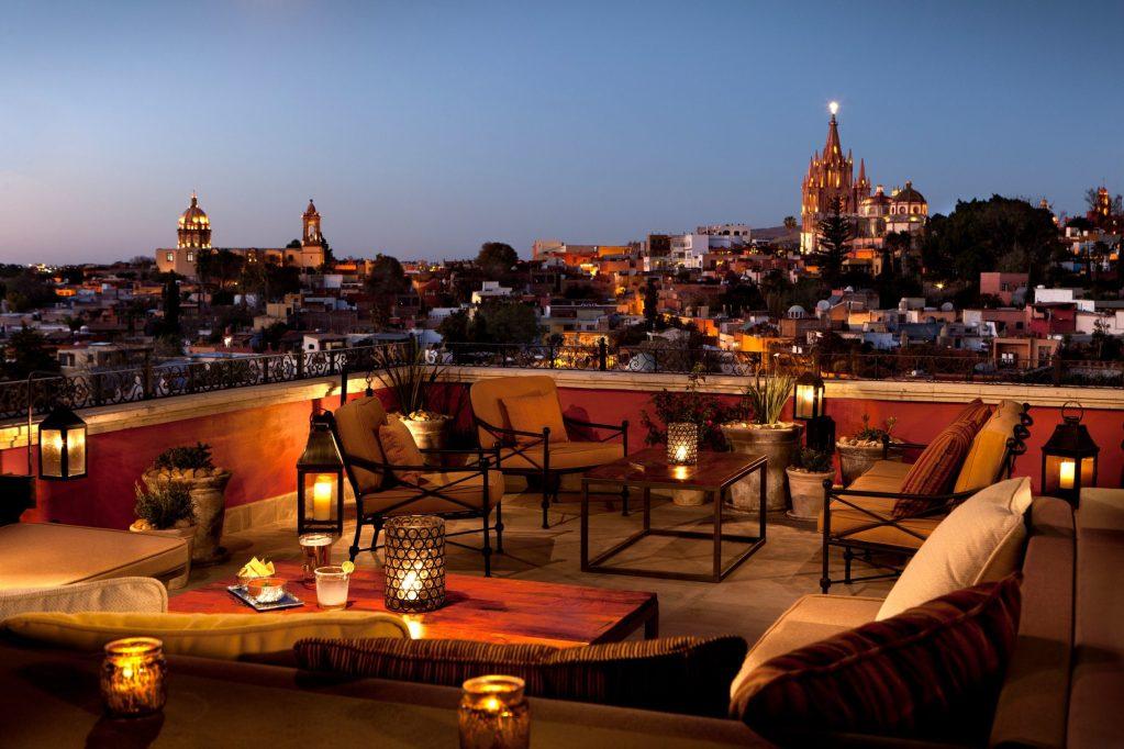 Rosewood San Miguel de Allende reabre sus puertas  como uno de los mejores hoteles de México