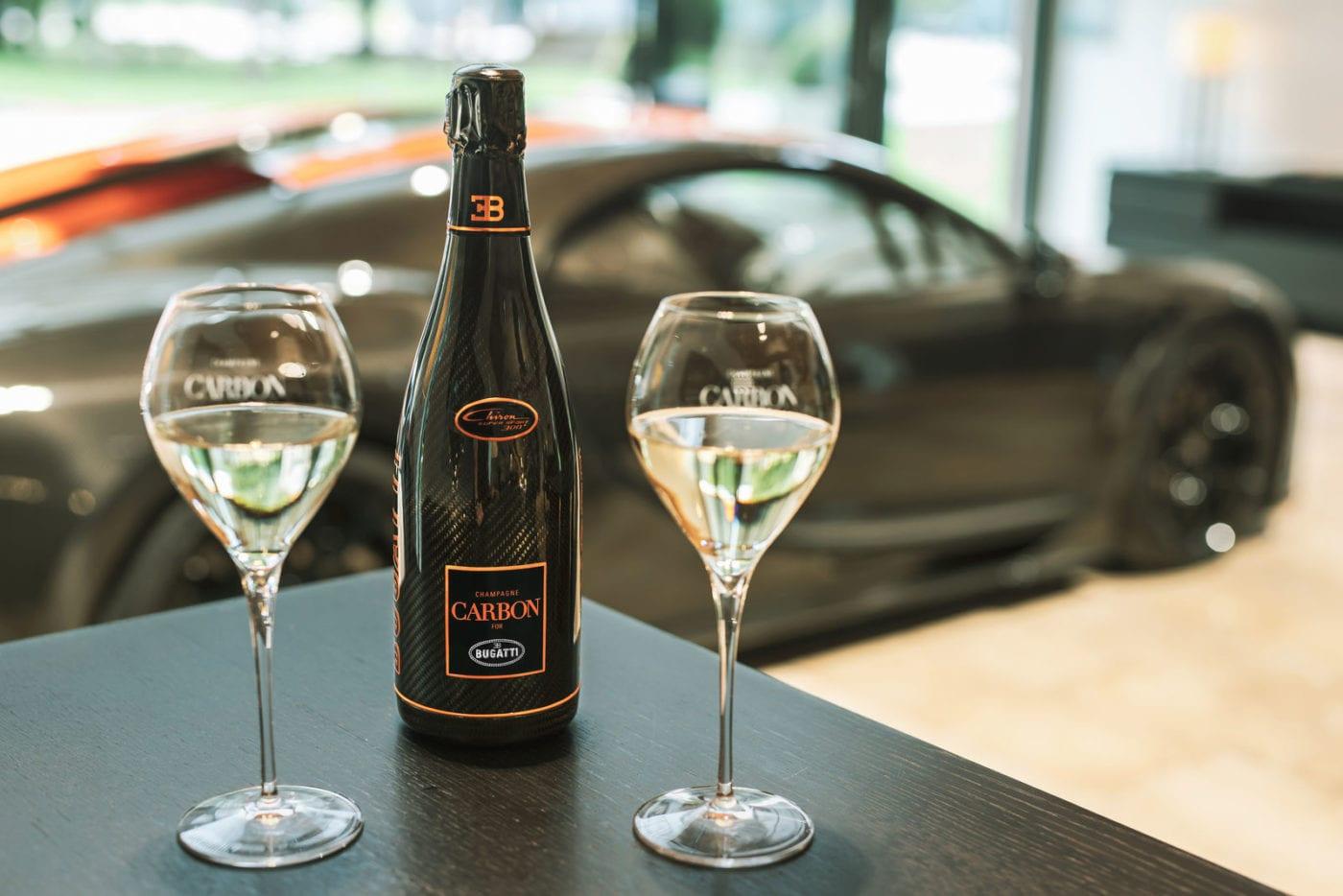 Champagne Carbon, el cuvée con el que Bugatti celebra un año de imponer el récord en velocidad