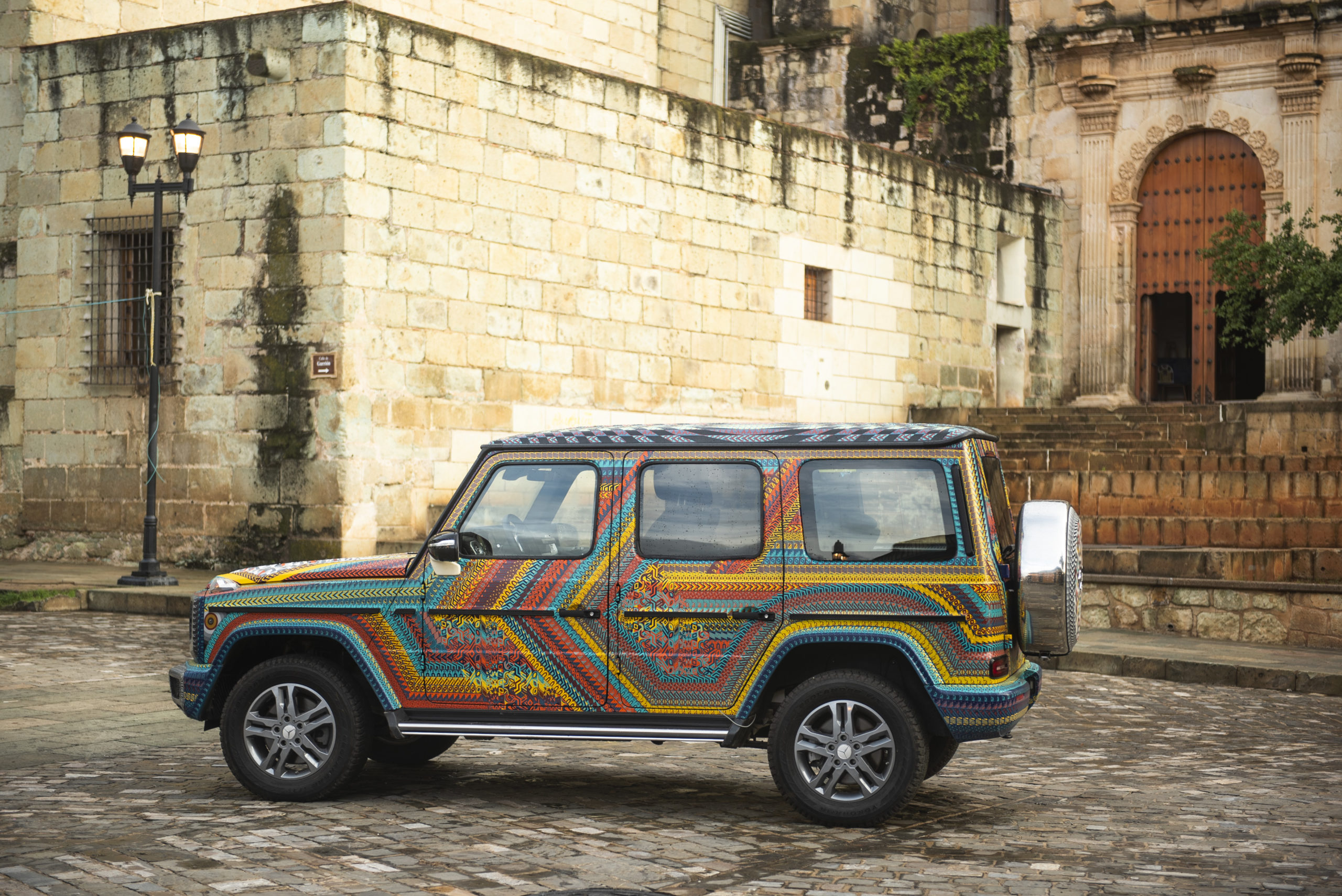 De Oaxaca para el mundo, ésta es la Clase G más mexicana de Mercedes-Benz