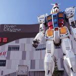 El robot más grande del mundo, Gundam RX, aún no está terminado y ya se mueve y camina en Japón