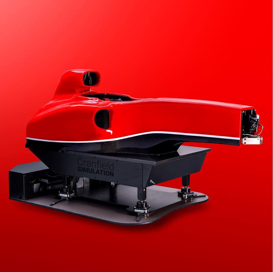 Siente la adrenalina de ser un piloto de la F1 con el Cranfield F1 Simulator