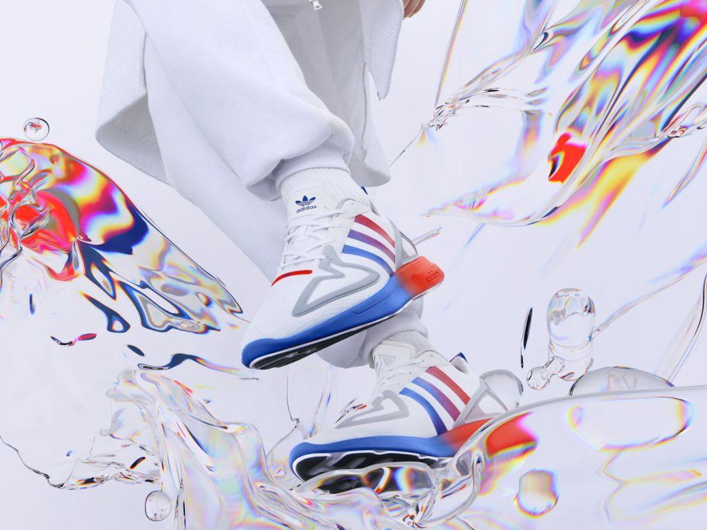 Vibrantes colores y siluetas actualizadas, así son los nuevos Adidas Originals ZX 2K